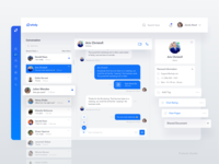 Customer Messaging Web App