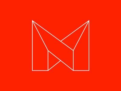 my new logo solid line version