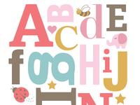 ABC Nursery Art
