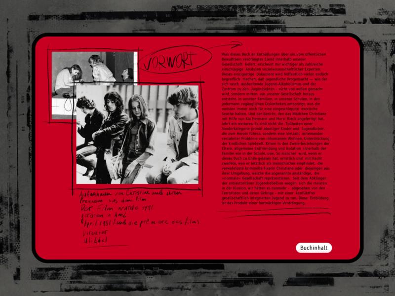 Vorwort reference responsive retro creativity film poster filmmaker film berlin books vector design typography illustration foto interface concept ui