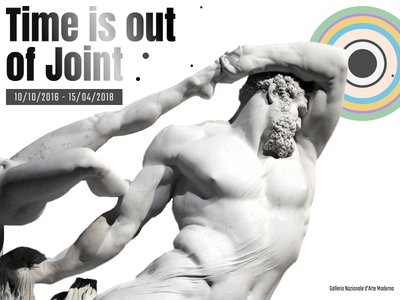 Time is out of joint contemporary moderna darte nazionale galleria lazio rome desig art