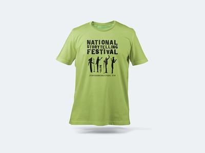 National Storytelling Festival T-shirt Design