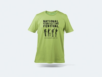National Storytelling Festival T-shirt Design drawing ink tennessee merch festival storytelling illustration t-shirt tshirt shirt