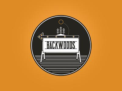 Backwoods Podcast tennessee appalachia backwoods sign logo podcast