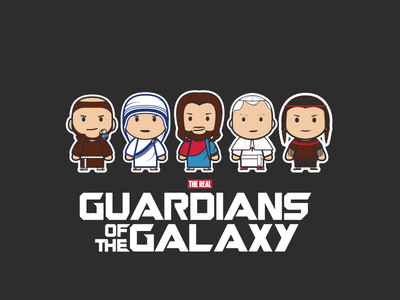 [the real] Guardians of the Galaxy