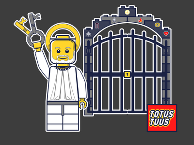 St Peter Lego