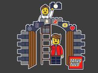 Totus Tuus Lego Church