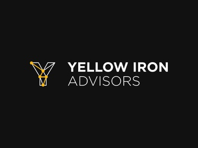 Yellow Iron Advisors heavy equipment business branding consultancy mining identity logo