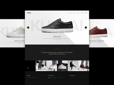 Kublai landing page shop themes theme shopify ecommerce e-commerce website design