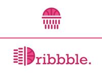 Dribbble Logo Redesign