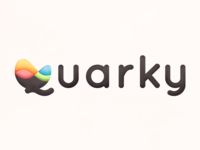 Quarky Logo Style Experiment