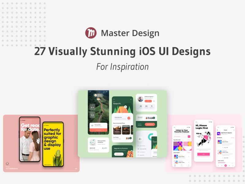 Dribbble Post 58 master design blog dribbble mobile inspiration visual design ui  ux ui uiux uidesign ios app ios sketch
