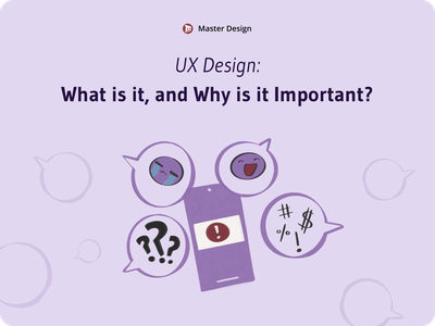 [Article] What is UX Design and Why is It Important? ux research design illustration sketch template sketch ui  ux uiux uidesign ui design ui ux  ui uxui uxdesign ux design ux