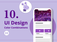 10 UI Design Color Combinations for Inspiration