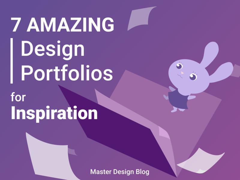 7 Design Portfolios for Design Inspiration inspiration design portfolio ux web ux  ui illustration design portfolio design graphic design ux design ui design