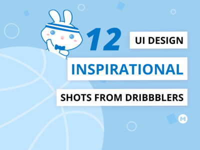 12 Inspirational UI Designs from Dribbblers