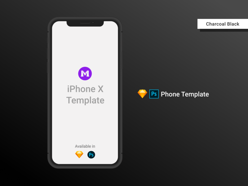 iPhone X Clay Template/Mockup [PSD] [Sketch] black photoshop templates photoshop template psd design psd mockups iphone template iphone xs mockup iphone x iphonexs iphone xs iphone mockup template iphone mockup iphone x mockup iphone mockups mockup template photoshop sketch psd mockup psd template sketch template