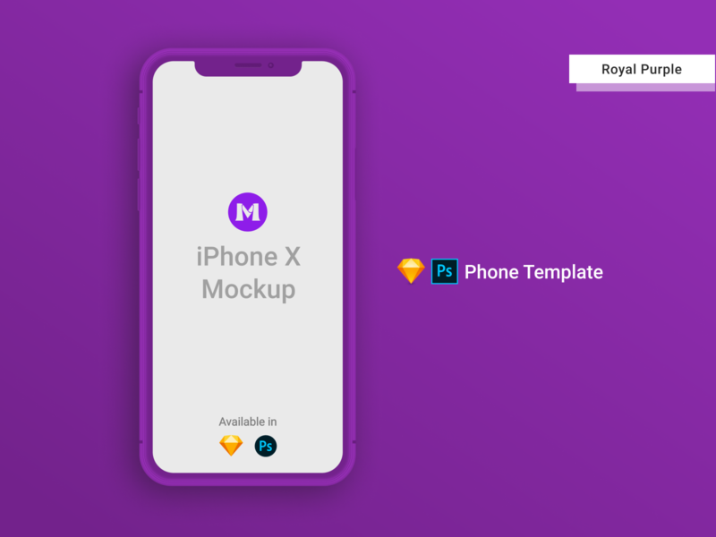 iPhone X Clay Template/Mockup [PSD] [Sketch] purple photoshop mockup photoshop templates photoshop template psd design psd mockups iphone template iphone xs mockup iphone x iphonexs iphone xs iphone mockup template iphone mockup iphone x mockup iphone mockups mockup template sketch psd mockup psd template sketch template