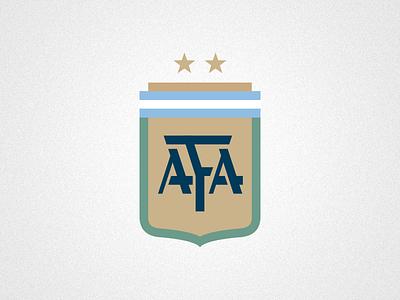 Just a football shield argentina soccer shield vector illustration design