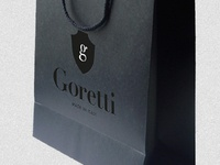 Goretti branded bag