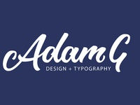Adam G Design + Typography