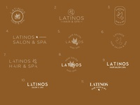 Latinos Salon & Spa re-brand.