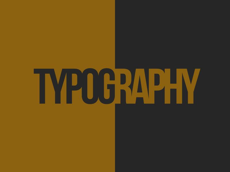 Daily Design 0001 font challenge design typography