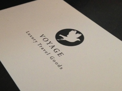 Voyage luxury travel goods business cards by bobby dribbble business card for my company i am currently starting up we produce travel friendly luxury leather goods colourmoves