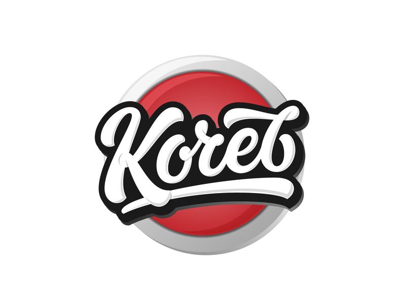 Кочев/Kochev branding illustration hand lettering cyrillic design vector logotype typography script lettering