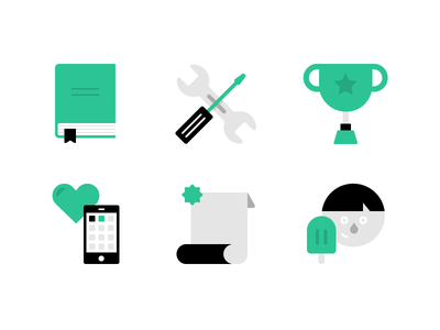 Icons Icons Icons ice cream icon phone icon trophy icon book icon illustration flat design icon set icons simple falt create