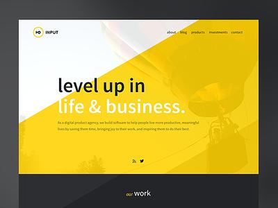 Input Landing Page uiux user interface business icons business pag landing page input work contact web logo blog