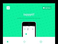 tapppit! Landing Page