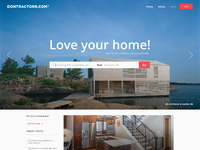 Contractor home desktop 3 dribbble