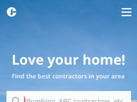 Contractor home mobile 3 dribbble