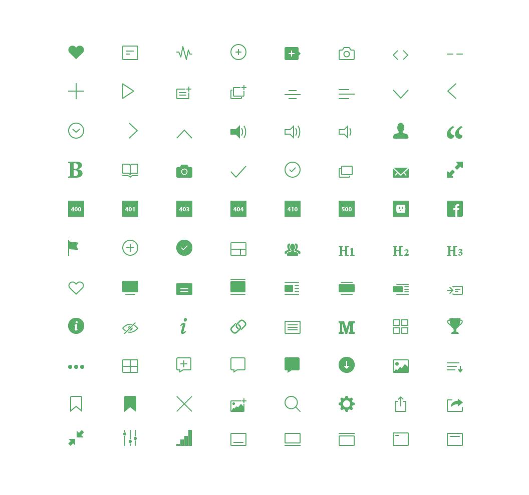 Medium icons dribbble