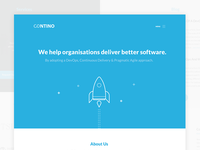 Contino Landing Page