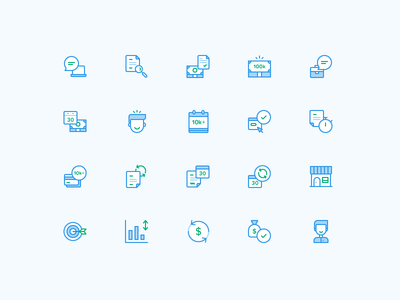 Sprout Finance Icons