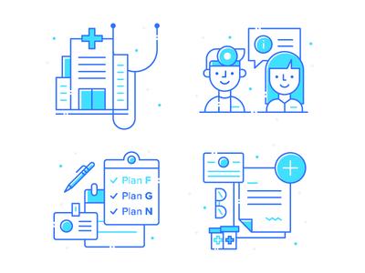 Medicare Illustrations