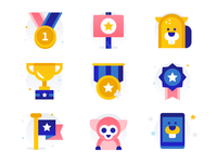 Pet Contest Icons