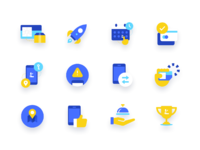Lunar icons dribbble
