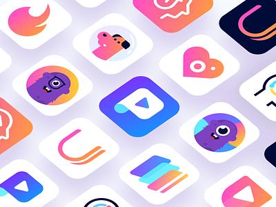 App Icons 2018 app icon icon app ios logo design icon design play store games ux