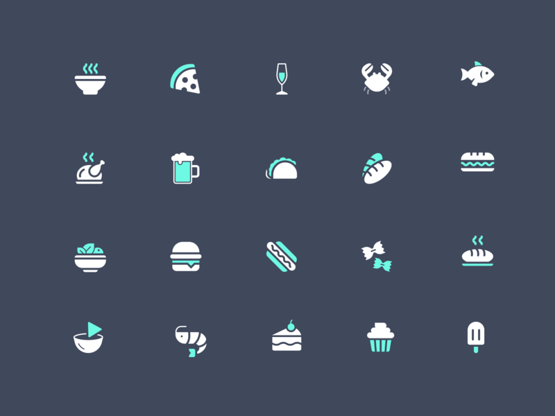 Point of Sale Icons by Dmitri Litvinov on Dribbble