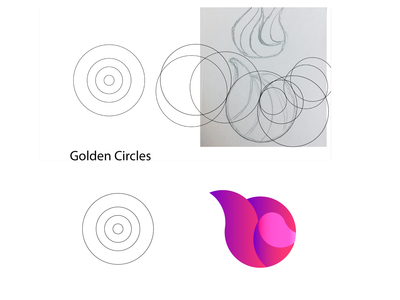 Helio Pixel Golden Ratio Logo