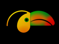 Delightful Toucan