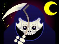 Delightful Spooky Grim Reaper!