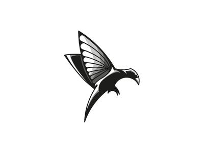 Caizik animal wings fly bird caizik logo