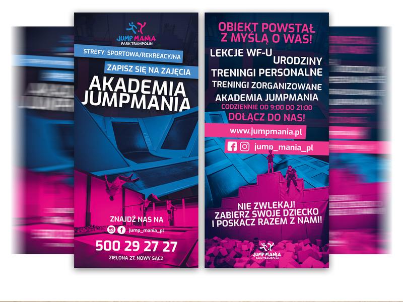 JumpMania Leaflet design leaflet design leaflet