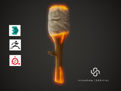 Stylized Torch