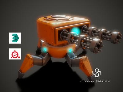Stylized Robot