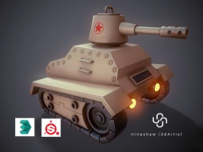 Stylized Tank